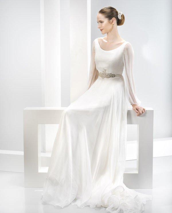vestidos-de-novia-manga-larga-vaporoso