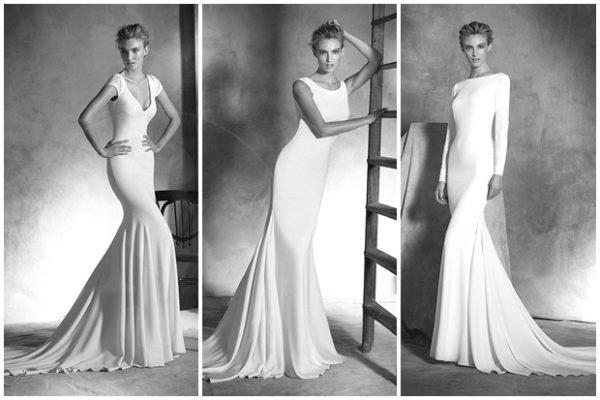 vestidos-de-novia-sencillos-blanco-y-negro