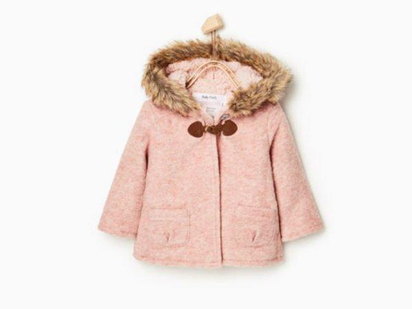 zara-bebes-abrigo-nina-rosa-con-pelo
