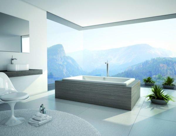 baños-modernos-con-bañera-vistas