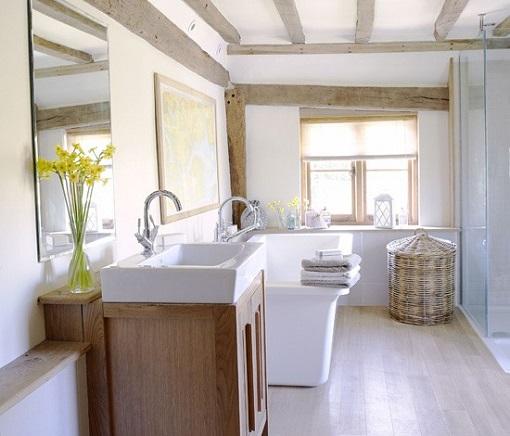 baños-rusticos-modernos-blanco-y-madera