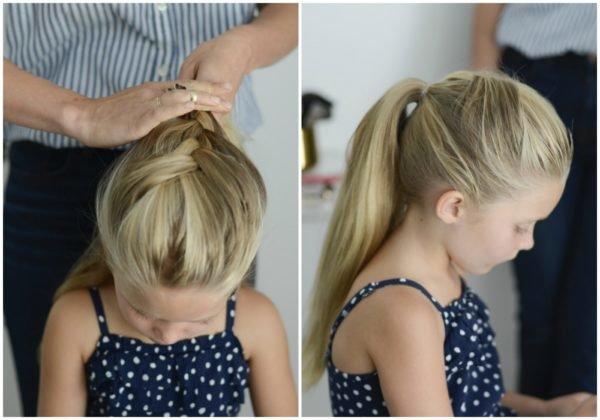 peinados-de-niñas-2017-coleta-alta