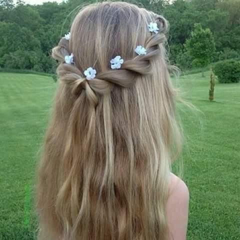 peinados-de-niñas-2017-flores