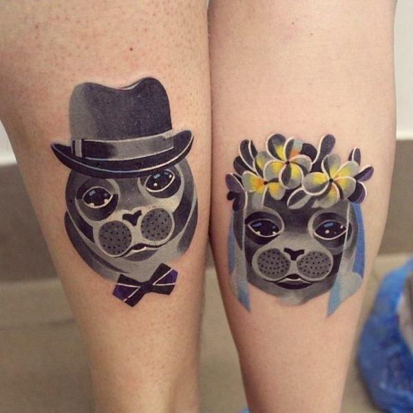 tatuajes-parejas-dos-mitades-perros