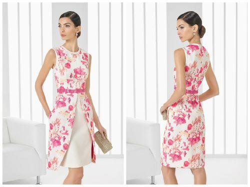 vestidos-de-comunion-para-madres-corto-rosa-clara-estampado