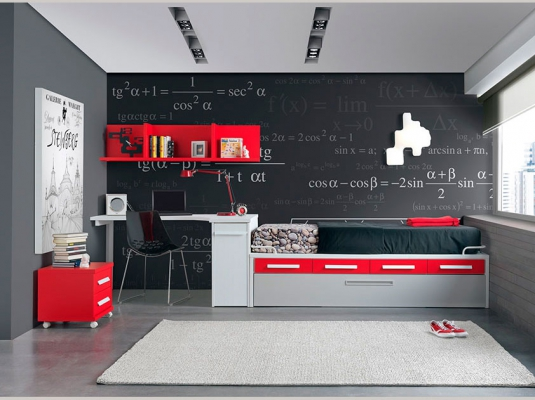 colores-para-cuartos-juveniles-negro-rojo