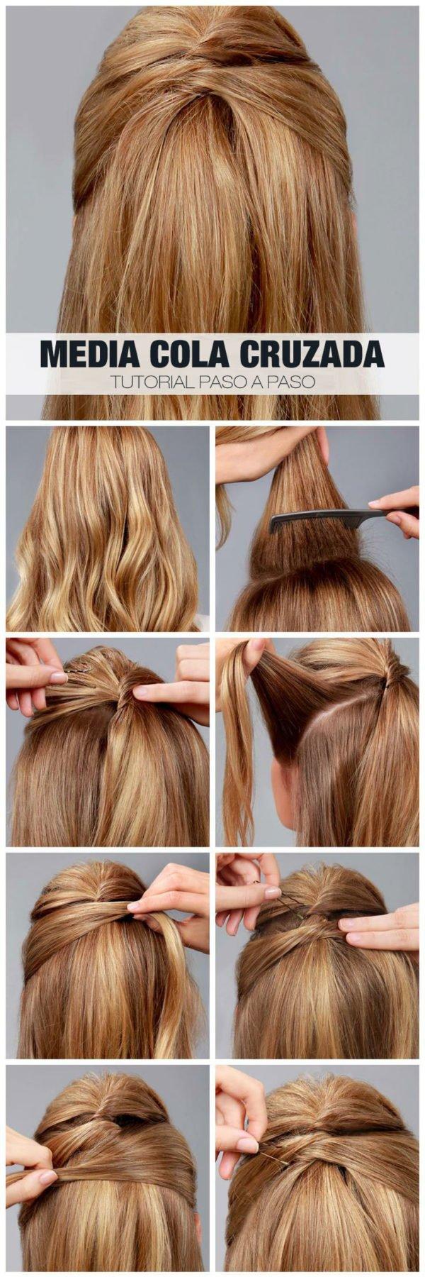 peinados-faciles-para-hacerse-una-misma-en-casa-otoño-invierno-media-cola-cruzada