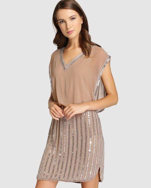 vestidos-de-fiesta-el-corte-ingles-otoño-invierno-brillo-beige