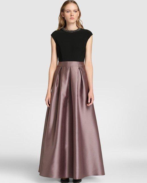 vestidos-de-fiesta-el-corte-ingles-otoño-invierno-dos-piezas-raso