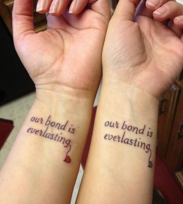 tatuajes-para-hermanas-frases-igual