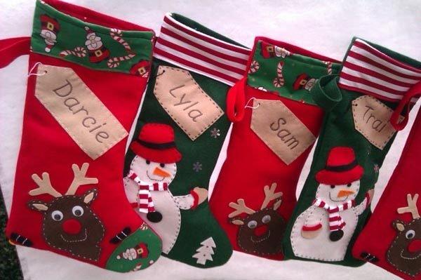 calcetines-de-navidad-renos-munecos-nieve