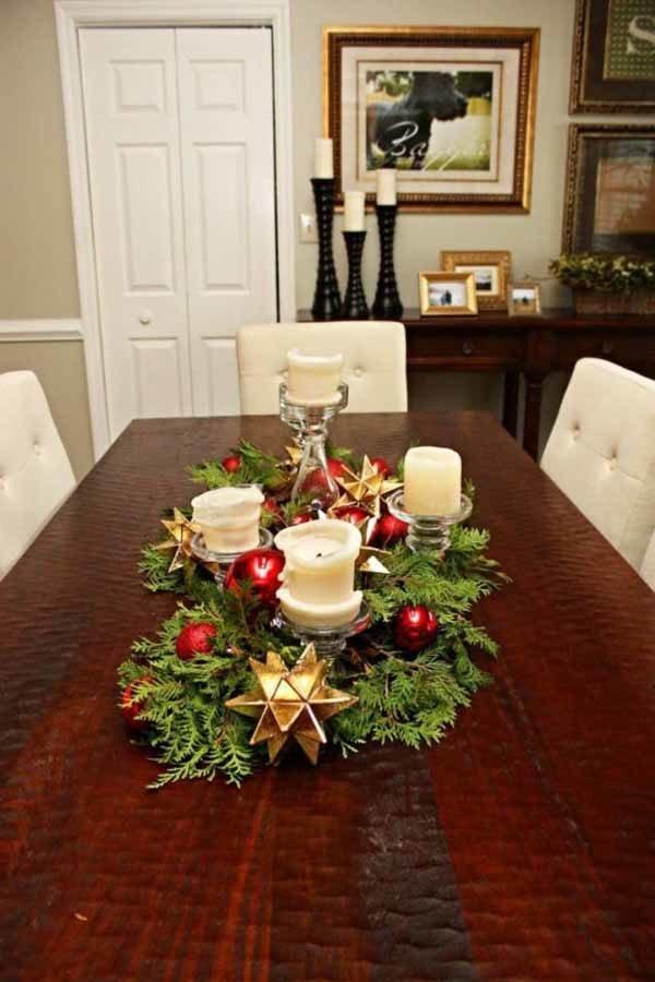 centros-de-mesa-navidenos-estrella-dorada
