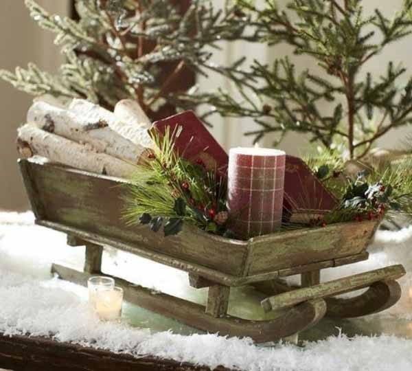 centros-de-mesa-navidenos-trineo-navidad