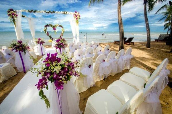 Boda tematica decoracion playa