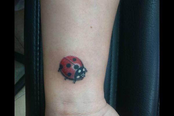 los-mejores-tatuajes-pequenos-mujeres-mariquita
