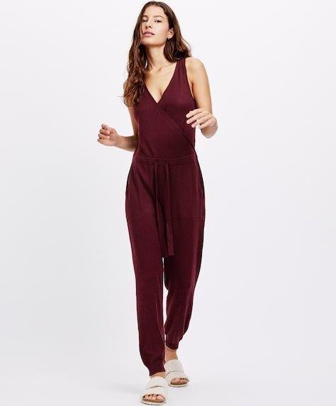 oysho-pijamas-conjunto-mono-punto-fino