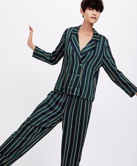 oysho-pijamas-multi-stripes