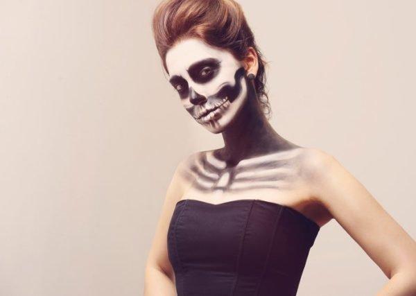 Pintura para cara cuerpo colores y fotos esqueleto cara y cuerpo