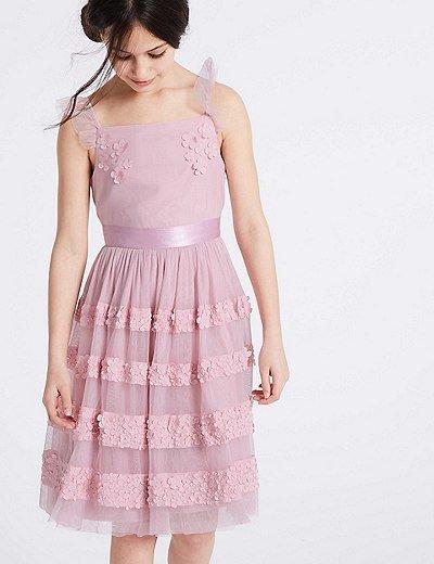 vestidos-de-fiesta-nina-largos-floral-capas-con-apliques-markandspencer