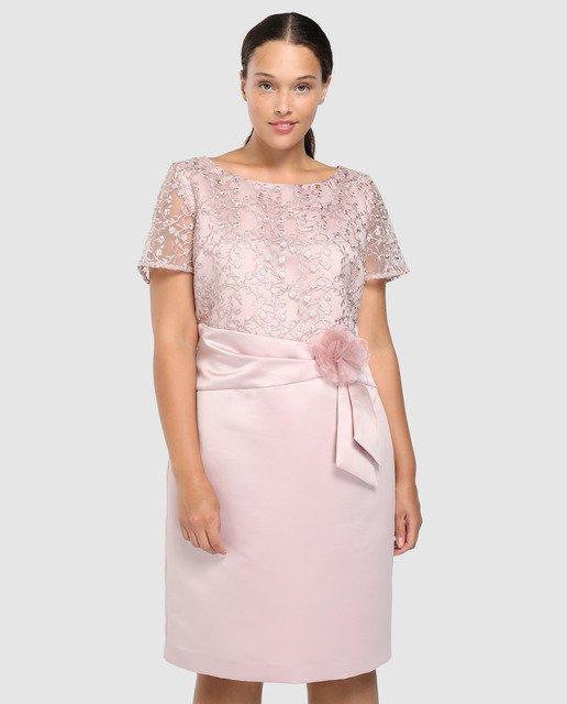 vestidos-gorditas-vestido-y-chal-con-bordados-rosa-anteaplus-elcorteingles