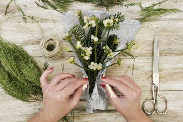 Como hacer un ramo de flores casero para san valentin pequeno