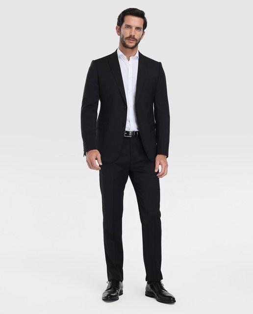 trajes-corte-ingles-negro-emporio-armani-regular-liso