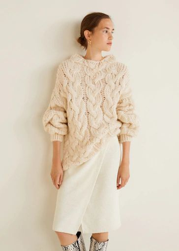 mango-otono-invierno-falda-cruzada-de-algodon