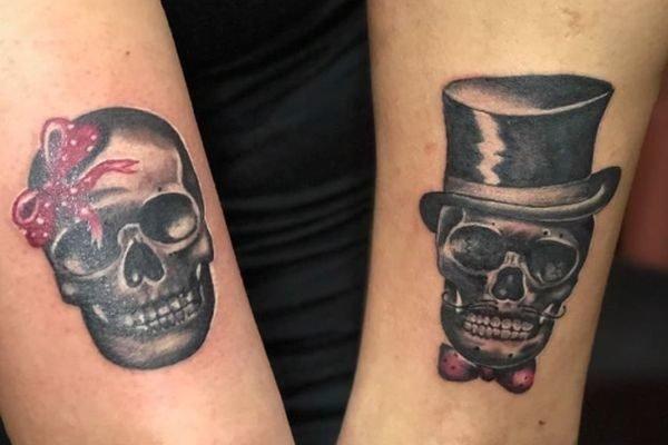 tatuajes-para-parejas-originales-calaveras