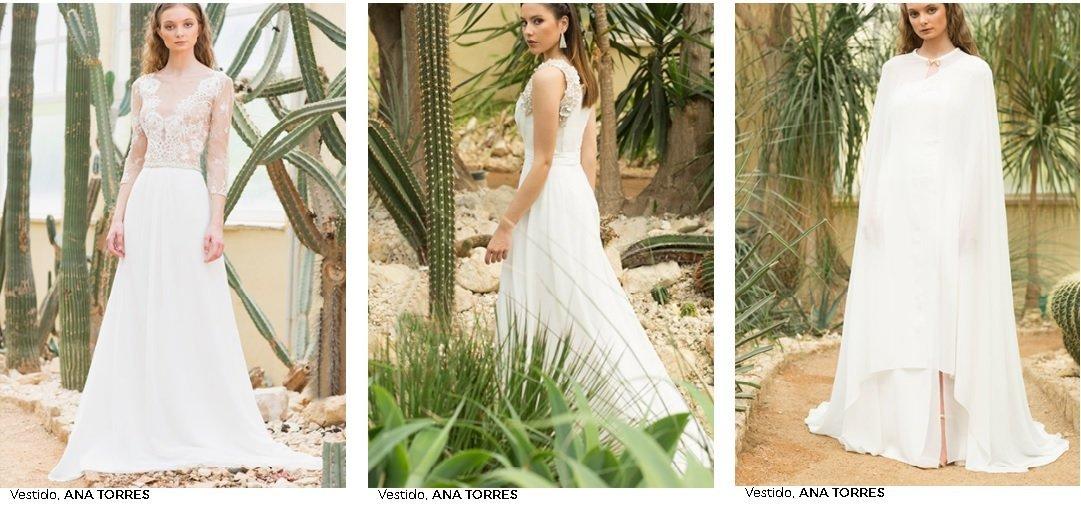 Vestidos de novia de el Corte Inglés, Ana Torres