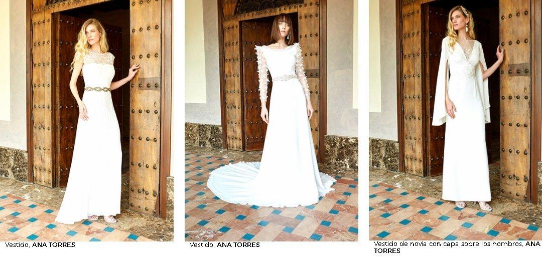 Vestidos de novia El Corte Inglés 2021. Ana Torres