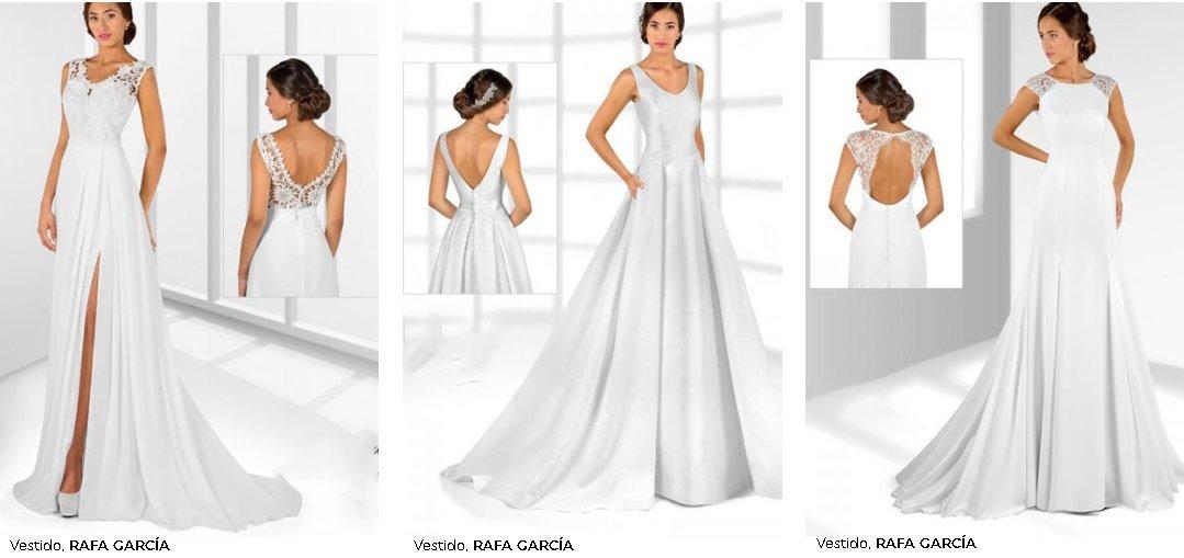 Vestidos de novia El Corte Inglés 2021. Rafa García