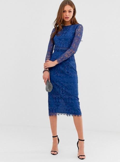 Vestido azul comunion