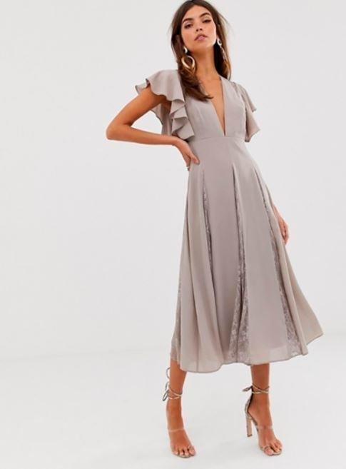 vestido de comunión de Asos
