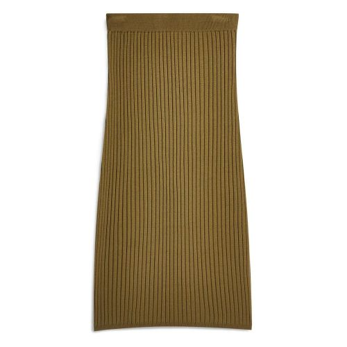 moda-primark-falda-tubo-canale-caqui