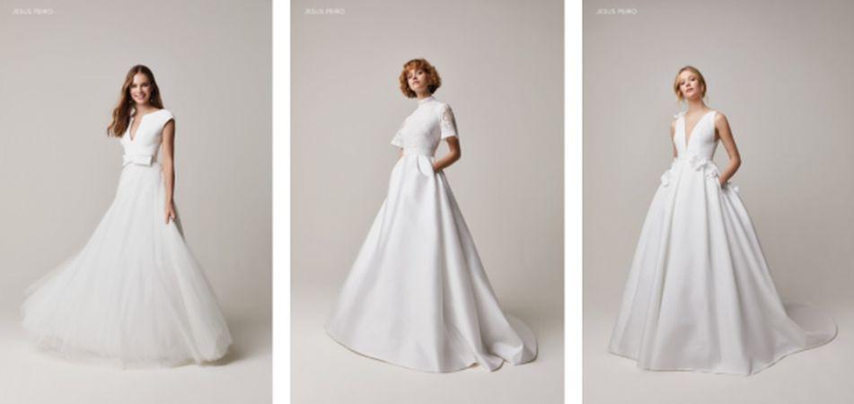 Vestidos de novia de Jesús Peiro