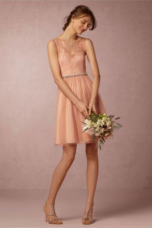 Vestido de novia boda civil corto