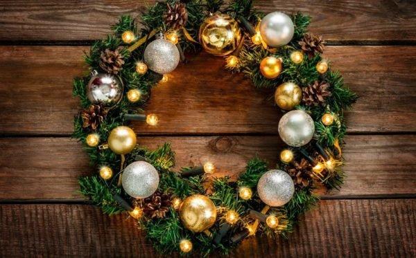 Coronas de Navidad 2020