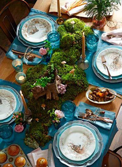decorar-mesa-en-navidad-musgo-trucosyastucias