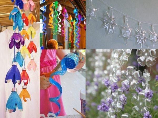 ideas-para-reciclar-botellas-de-plastico-guirnaldas-umadecoracion