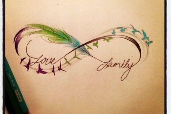 los-tatuajes-de-infinito-fotos-y-significado-love-family-aves-pinterest