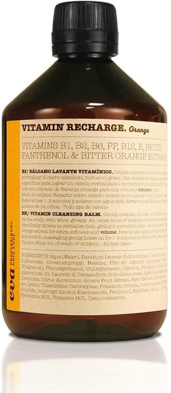 Champú sin sulfatos Vitamin Recharge