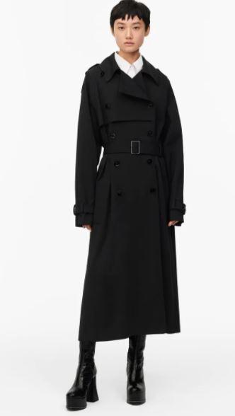 Abrigo Zara otoño Invierno 2020 - 2021