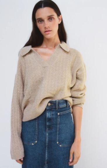 Jersey Zara otoño Invierno 2020 - 2021