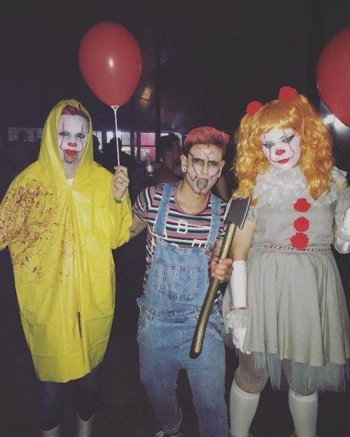 Disfrazados para Halloween