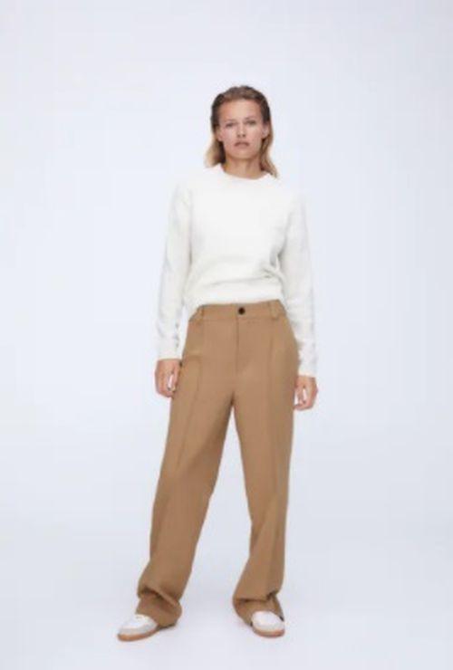 Pantalón de corte recto Zara 2020