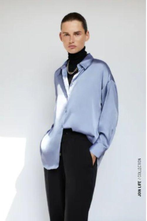 Pantalón jogger Paperbag Zara