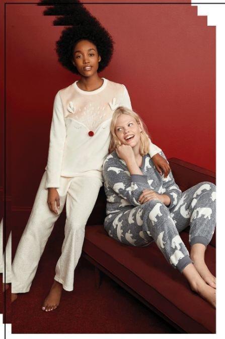 Tendencias en pijamas de Navidad para 2020 en Primark