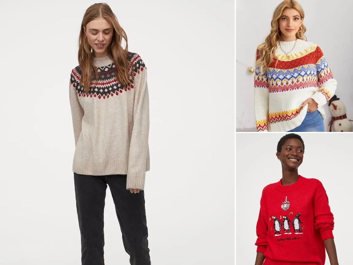 Tendencias en jerséis de Navidad para 2020