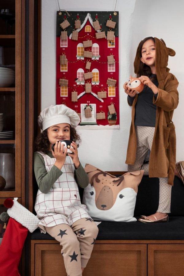 Catálogo H&M Home Navidad 2020 calendario