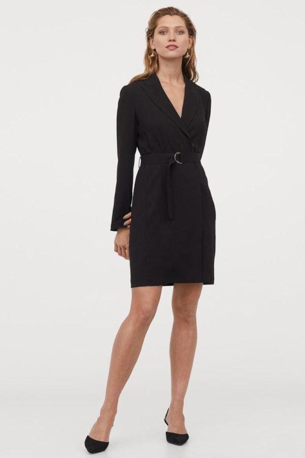 Catálogo H&M otoño invierno 2020-2021 vestido blazer